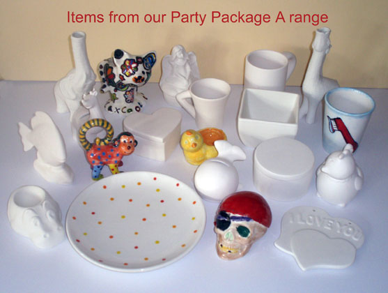 Childrens party range